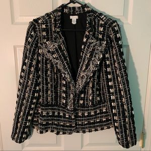 Gorgeous Chico's Jacket, Size 2,  EUC